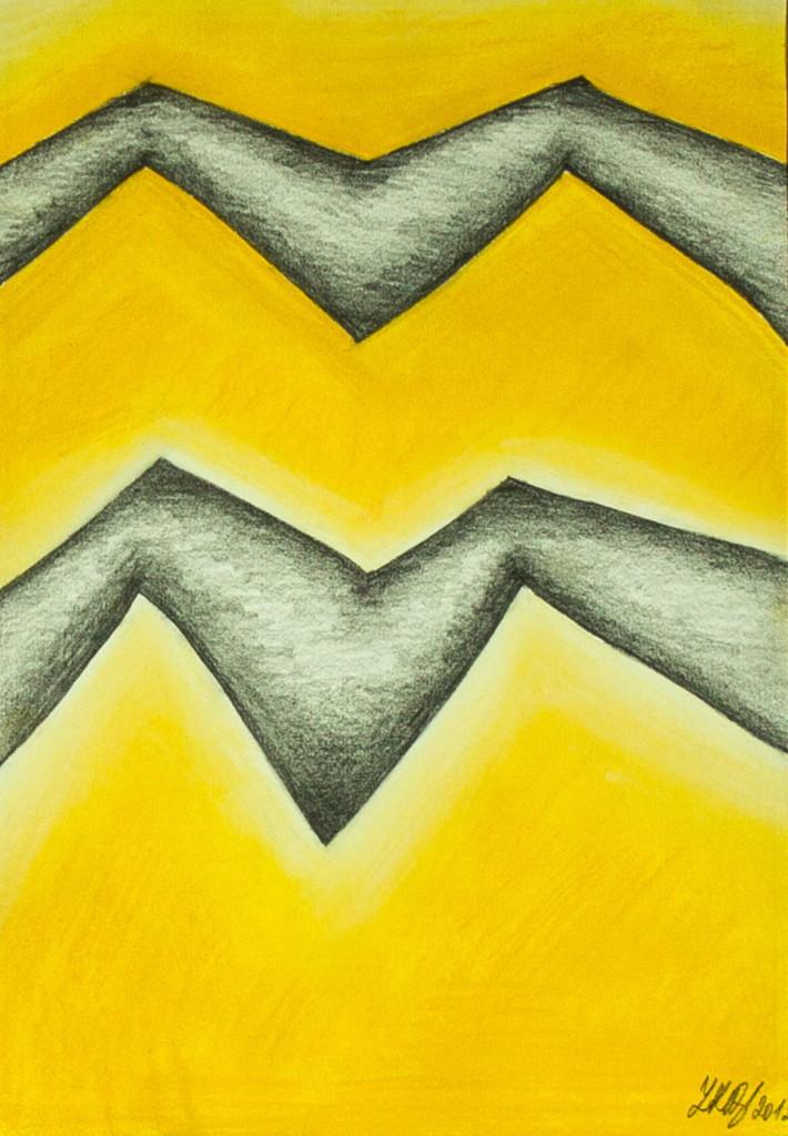 Obraz| Hroty ve žluté | na prodej