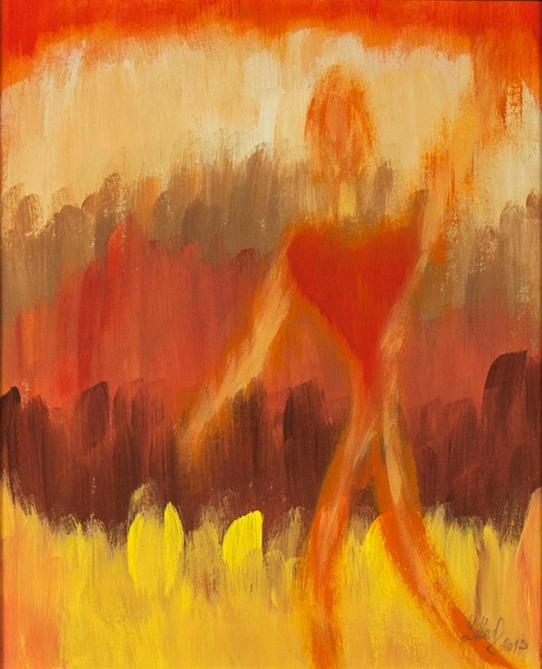 Obraz  Srdcem především   na prodej
