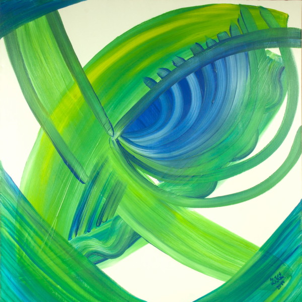 Obraz  Modro – zelené oko   na prodej