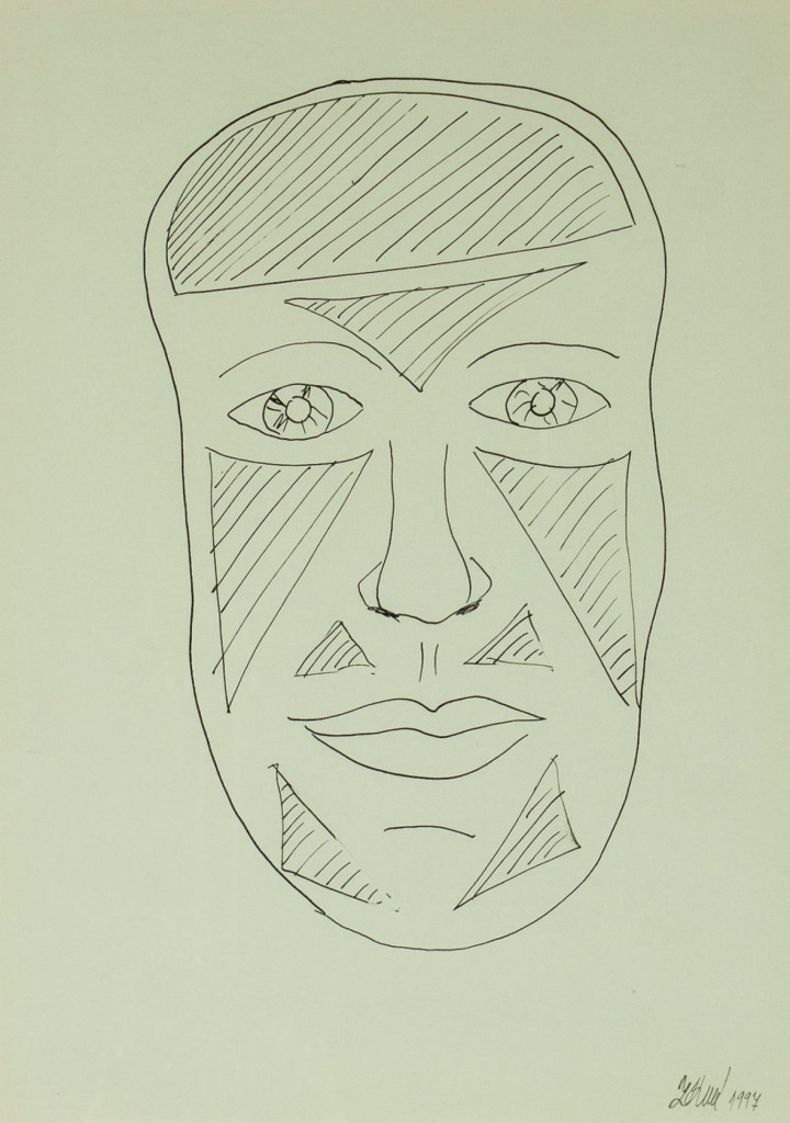 Obraz| Maska | na prodej