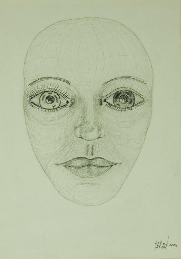 Obraz| Dvojí oči | na prodej